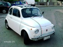 Trip around Rome with a car FIAT 500 cod. car01