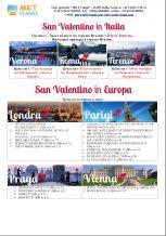 День Святого Валентина в городах Италии и Европы