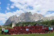 Летний футбольный детский лагерь в Италии